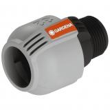 GARDENA 2769-20 Sprinklersystem pro Verbinder, 32 mm x 1-Aussengewinde