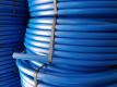 Druckrohr PE100RC 32x3,0 SDR11 TW    50,000 M schwarz mit blauer Außenschicht 50m